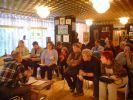семинар по певчей канарейке во время выставки